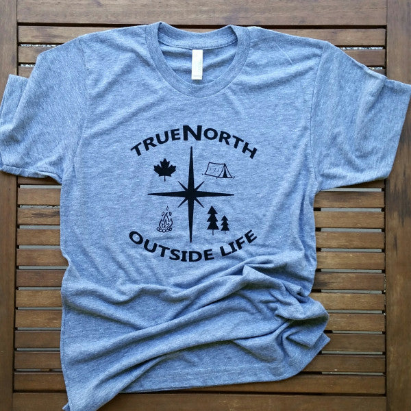 True North adult unisex tri-blend tee (sizes XS & S only)