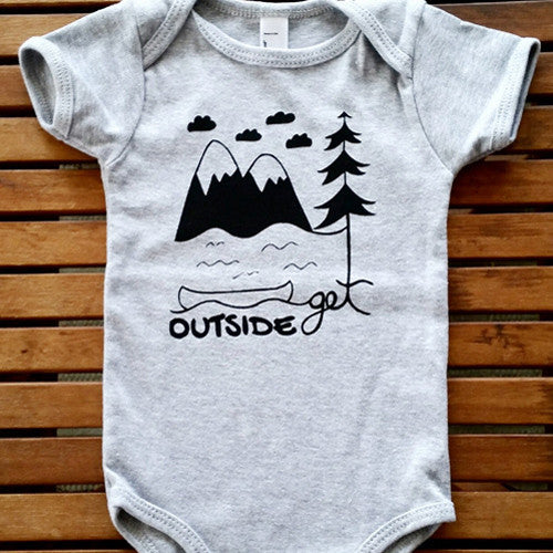Get Outside short sleeve onesie