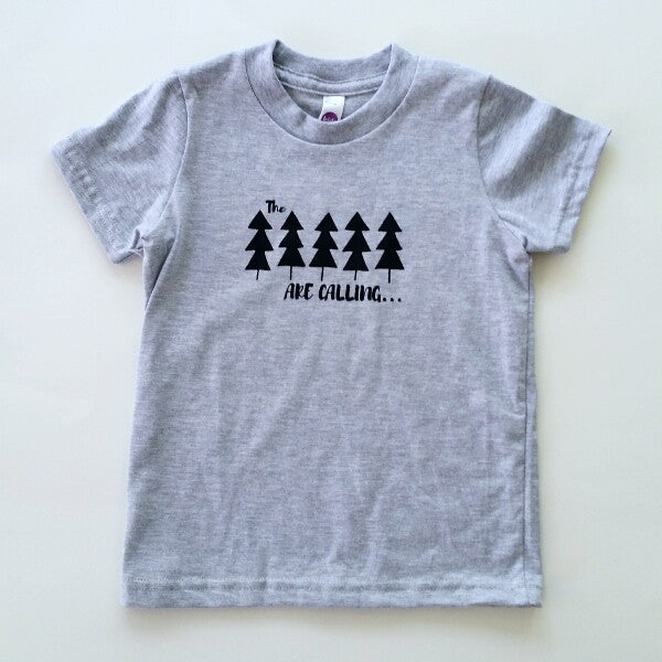 The Trees are Calling kids' tee