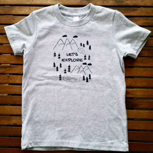 Let's Explore kids' tee (size 8 only)