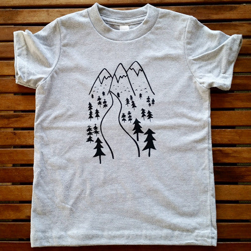 Take a Hike kids' tee
