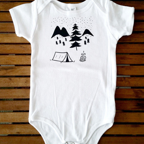 Under the Stars short sleeve onesie