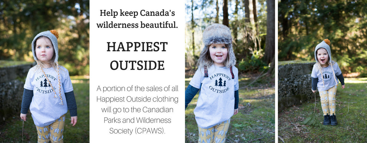 Happiest Outside collection now available.