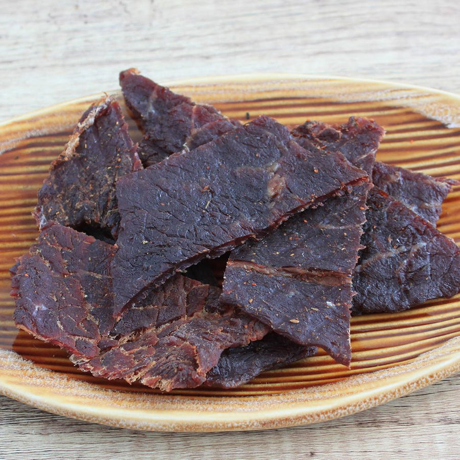 Crossroads (Sweet Chili Stout Grass-fed Beef Jerky)