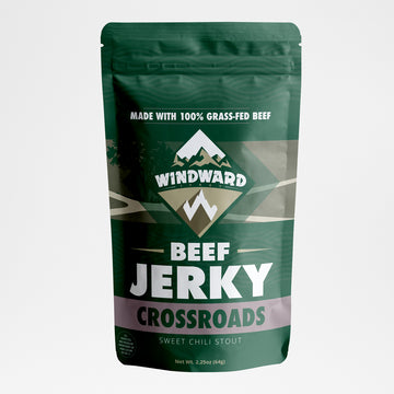 Crossroads (Sweet Chili Stout) Beef Jerky