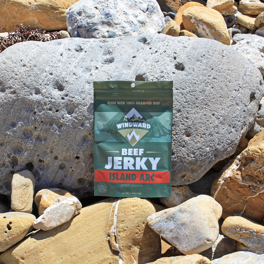 Windward Island Arc Grass-fed Beef Jerky