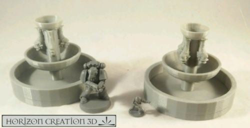 Fountain 2 Pack 60mm Tall