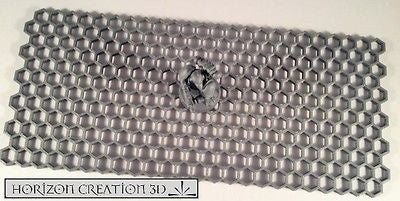 "Hex Sheet 3mm x 8 3/4"" x 4"