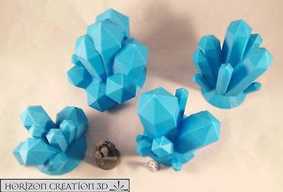 Crystals BLUE Large 4 Pack