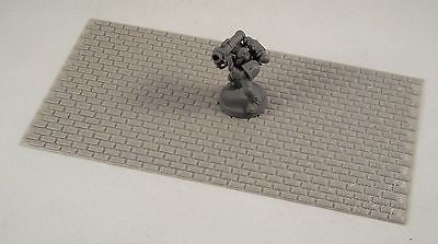 "Brick Sheet 7""1/4 x 4"" - Building Bits"
