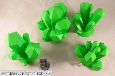 Crystals GREEN Large 4 Pack
