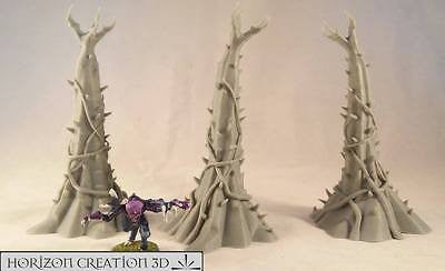 Bio Terrain Towers 140mm 3 Pack