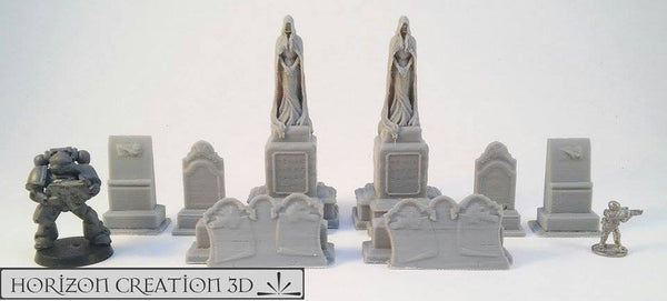 Grave Yard Set 8 Piece