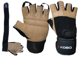 KOBO Weight Lifting Gym Gloves (WTG-02)