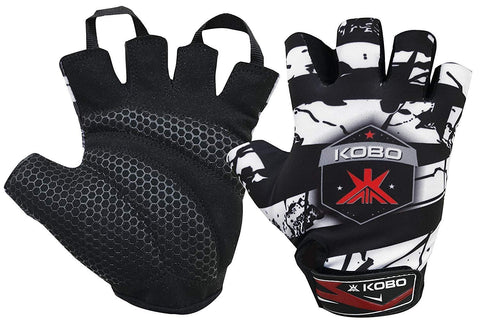 Kobo WTG-24 Lycra-Spandex Gym Gloves (Medium)