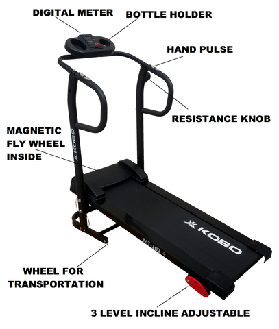 MT-102 Treadmill (Magnatic Manual)