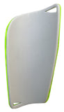 "Kobo 7.5"" Football Shin Guard 2234 (Green/Silver)"