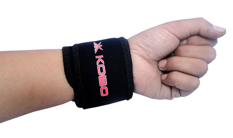 KOBO NEOPRENE WRIST ADJUSTABLE SUPPORT FREE SIZE