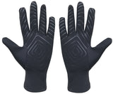 Kobo RG-02 Fleece Running Gloves with Silicon Grip (Medium)
