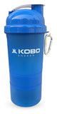 Kobo Shaker Sipper Bottle 400 ml with 2 Compartment (Imported)