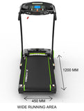 Kobo TM-303 Motorized Treadmill 3 H.P Peak with 3 Level Incline