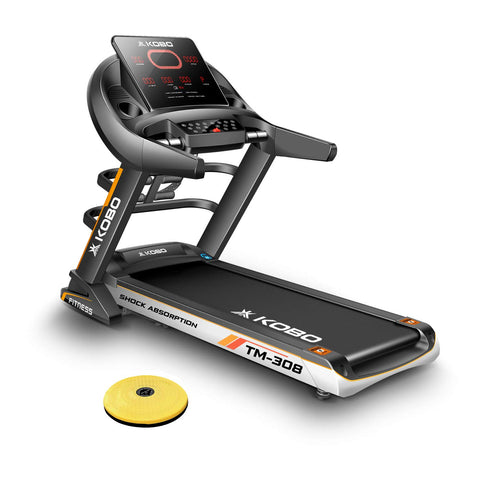 Kobo TM-308 3 H.P Auto Incline Motorized Treadmill (Free Installation Assistance)