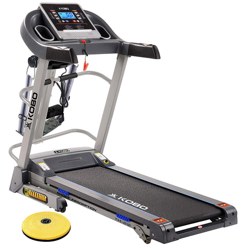 Kobo TM-212 2 H.P  Treadmill with Multi Function Massager (Free Installation Assistance)