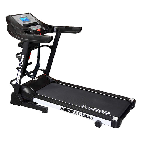 Kobo TM-211 2 H.P Treadmill with 5.5 Inches LCD Screen with Bluetooth (Free Installation Assistance)