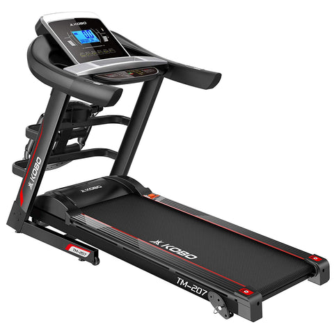 Kobo TM-207 2 H.P Treadmill with Multi Function Massager (Free Installation Assistance)
