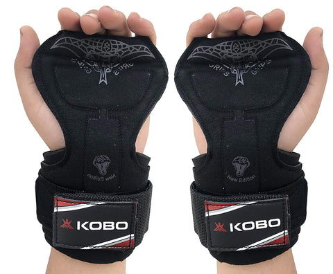 Kobo WTA-38 Neoprene Cobra Grip Pad Gloves, Free Size (Black)