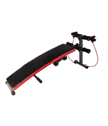 Kobo Sit Up Bench With Dumbbells And Resistance Tube