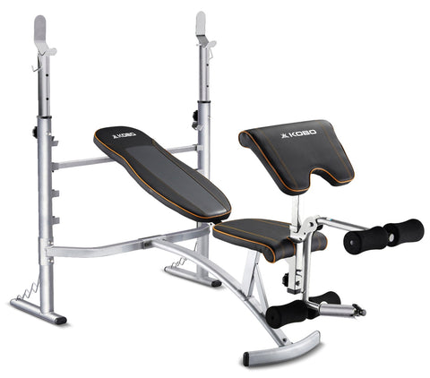 Kobo EB-1007 Multipurpose Fitness Exercise Weight Lifting Bench (Flat, Incline & Decline)