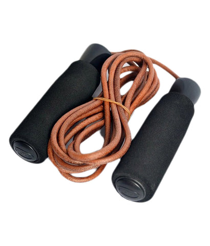 Kobo Weighted Leather Jump Rope / Skipping Rope