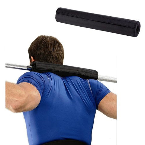 KOBO Gel Olympic Barbell Shoulder Bar Pad Support