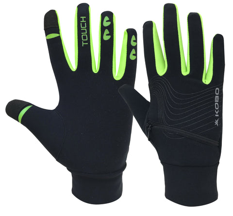 Kobo RG-01 Fleece Running Gloves (Small)