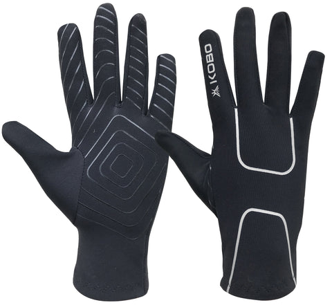 Kobo RG-02 Fleece Running Gloves with Silicon Grip (Small)