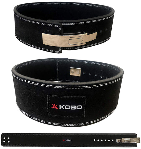 Kobo WTB-08 Leather Power Lifting Lever Belt (XL)