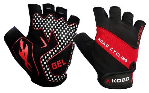 KOBO Weight Lifting Gym gloves/ Bike gloves/Cycling Gloves