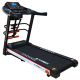Kobo TM-254 2.5 H.P Multi Function Motorized Treadmill with 5 Inches LCD Screen (Free Installation Assistance)