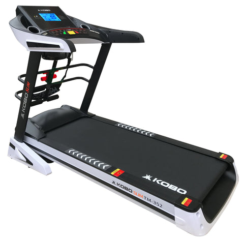 Kobo TM-352 3.5 H.P Treadmill with 5 Inches LCD Auto Incline (Free Installation Assistance)