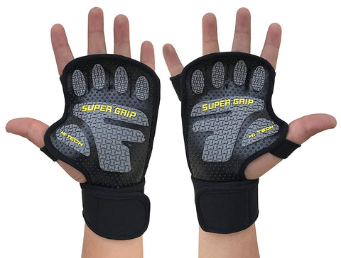 Kobo WTG-22 Lycra-Spandex Gym Gloves (XL)