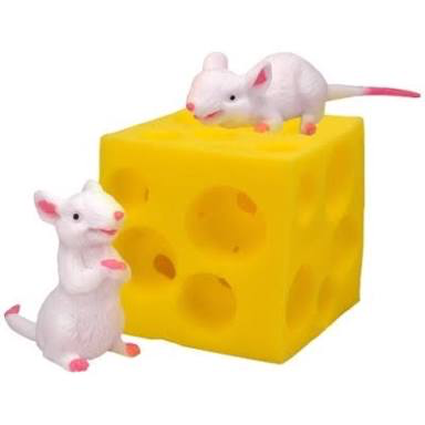 Stretchy Mouse and Cheese