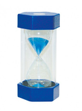 Small Coloured Sand Timer - 5 Minute Blue