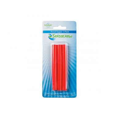 Sensachew chewable pencil toppers
