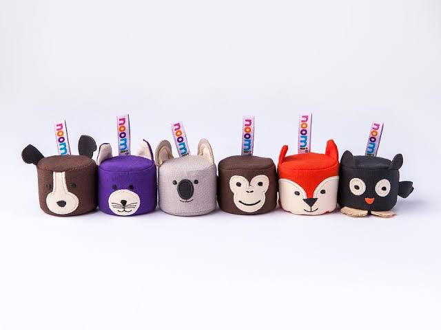 Squeezibo Noomi Animal Stress Balls