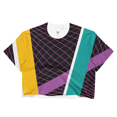 90's Softwear Ladies Crop Top