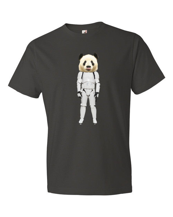 Deauxpazz Panda Trooper Short sleeve t-shirt