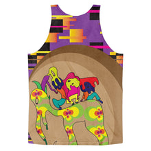 Trippy Purp Classic fit tank top (unisex)