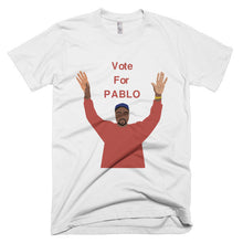 Vote for Pablo Short sleeve men's t-shirt
