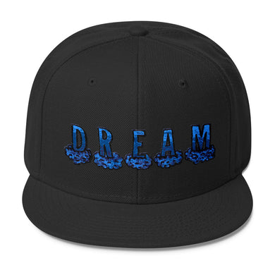 Blue Dream Wool Blend Snapback